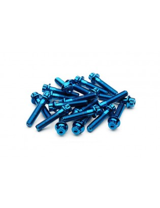 M7 x 32 Blau Felgenschraube...