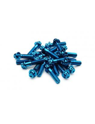 M8 x 32 Blau Felgenschraube...