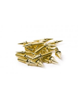 M7 x 24 Gold Felgenschraube...