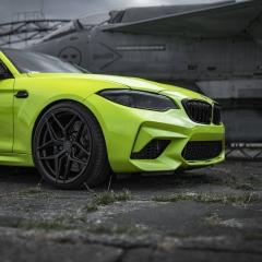 Wheels: Concaver CVR2 Car: BMW M2 Willst du auch einen Satz Concaver Felgen? Dann schau im Shop vorbei oder melde dich bei mir. @concaverwheels @bmw #WheelsRestorationUniques